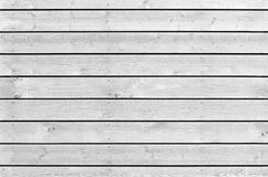 Texture sans couture de fond de nouveau mur en bois blanc Images stock
