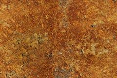 Texture sans couture de métal rouillé de plat Photographie stock libre de droits