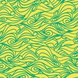 Texture sans couture de modèle de vague. Illustration ENV 8 de vecteur Photo libre de droits