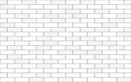 Texture sans couture de mur de briques blanc Fond de vecteur illustration de vecteur