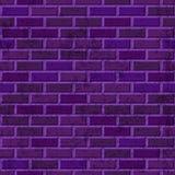 Texture sans couture de mur de briques pourpre de vecteur Architecture abstraite et fond violet intérieur de grenier Photo stock