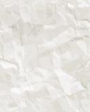 Texture sans couture de papier fripée Image libre de droits