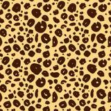 Texture sans couture de peau de guépard, fond de léopard illustration libre de droits