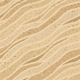 Texture sans couture de sable Image libre de droits