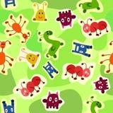 Texture de textile d'animaux Image stock