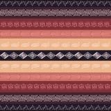 Texture sans couture de tribal de vecteur Photos libres de droits
