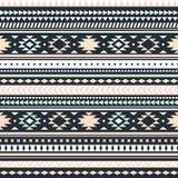 Texture sans couture de tribal de vecteur Photo libre de droits