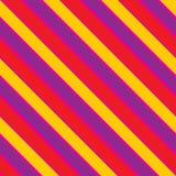 Texture sans couture de vecteur avec les lignes colorées slated illustration libre de droits