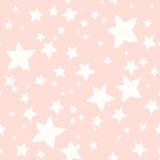 Texture sans couture des fleur-étoiles illustration libre de droits