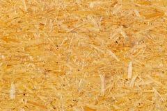 Texture sans couture du panneau orienté de brin, OSB Photographie stock