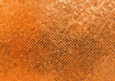 Texture sans couture en verre brillante de luxe abstraite de fond de mosaïque de modèle de Rusty Orange Wall Flooring Tile pour l Image libre de droits