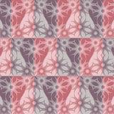 Texture sans couture fleurie rose-clair Photo libre de droits