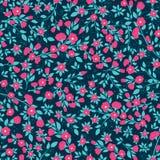Texture sans couture florale dense de modèle de vecteur illustration libre de droits