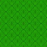 Texture sans couture sur le vert Motif de remplissage Photographie stock libre de droits