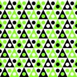 Texture sans couture triangulaire de tentes de camping illustration de vecteur