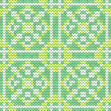 Texture sans couture verte en bon état Photographie stock