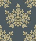 Texture sans joint avec des fleurs Photo stock