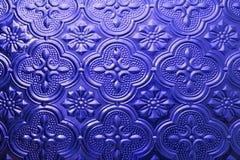 Texture sans joint colorée Fond en verre Formes en verre florales d'abrégé sur modèle de mur de la décoration 3D de mur intérieur Image libre de droits