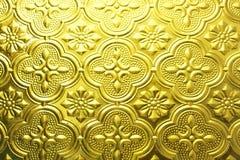 Texture sans joint colorée Fond en verre Formes en verre florales d'abrégé sur modèle de mur de la décoration 3D de mur intérieur Photographie stock