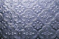 Texture sans joint colorée Fond en verre Formes en verre florales d'abrégé sur modèle de mur de la décoration 3D de mur intérieur Photos stock