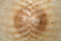 Texture sans joint d'osier de rotin Images libres de droits