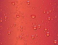 Texture sans joint de baisse de l'eau Images stock