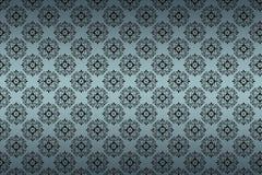 Texture sans joint de configuration sur le fond de gradient Photos libres de droits