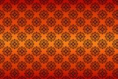 Texture sans joint de configuration sur le fond de gradient Images stock