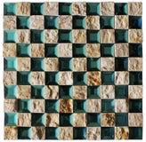 Texture sans joint de mosaïque Photographie stock