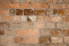 Texture sans joint de mur de briques Photographie stock