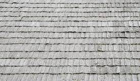 Texture sans joint de toit en bois. Image libre de droits