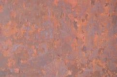 Texture sans joint en métal de rouille Images stock