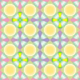 Texture sans joint en pastel de fleurs Photo libre de droits