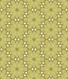 Texture sans joint fleurie Image libre de droits