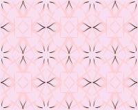 Texture sans joint florale fleurie Mod?le rose-clair Fond persan de style Le modèle sans couture peut être employé pour le papier illustration stock