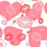 Texture sans joint romantique Image libre de droits