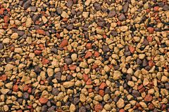 Texture - a scattering of stones Stock Photos