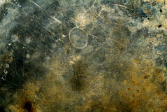 Texture scratched. Scratched surface, suitable as a background texture Royalty Free Stock Photography