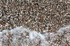 Texture of sea pebbles Stock Images