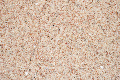 Texture of sea sand to create the background Royalty Free Stock Photography