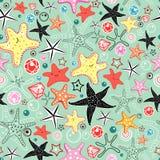 Texture of the sea stars Stock Photo