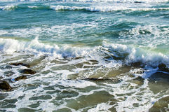 Texture - sea waves during a storm Stock Image