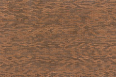 Texture Series - Large Light and Dark Brick Wall. Image showing a brick wall with variations in the brick colors from light to dark royalty free stock images