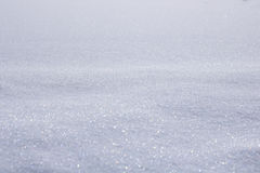 Texture Series - Sparkling Snow. Image showing a nice flat area of sparkling snow royalty free stock images