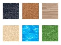 Texture set stock illustration
