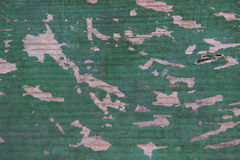 Texture shabby old green wood boards Royalty Free Stock Images