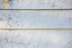 Texture of shabby paint and plaster cracks Stock Images