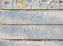 Texture of shabby paint and plaster cracks Stock Photo