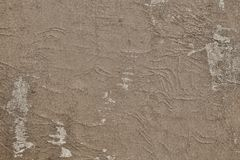 Texture shabby surface of leather sepia color Royalty Free Stock Image