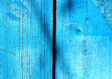 Texture of shabby wooden planks, rustic wooden fence background Stock Images